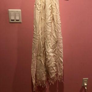 Accessories - White scarf
